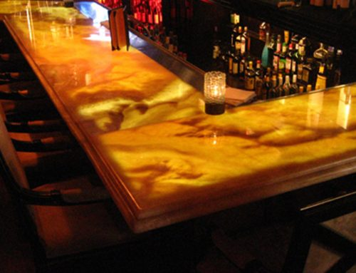 Lighting Translucent Stone Countertops